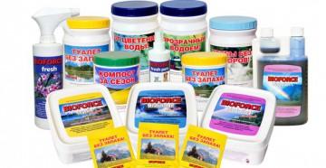 Набор бактерий для септиков и выгребных ям