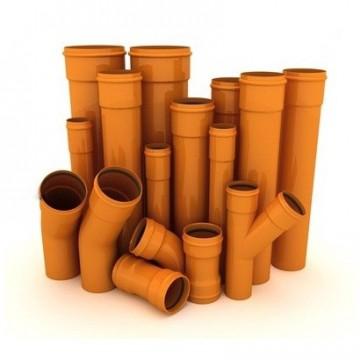 канализационные трубы из ПВХ
