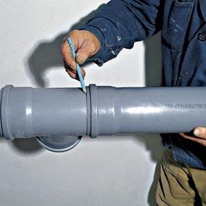 Соединение труб из поливинилхлорида