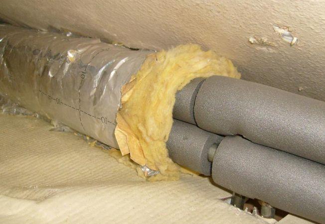 Порядок монтажа теплоизоляции труб