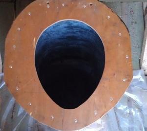 Унитаз из оцинкованной стали