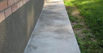 Устройство бетонной отмостки вокруг дома