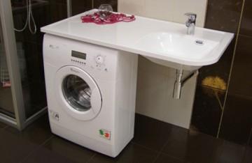 стиральная машинка под раковину