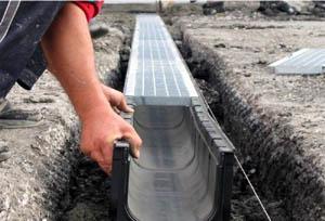 лоток для ливневой канализации