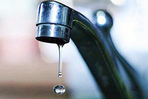 Слабый напор воды