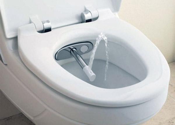 Унитаз со встроенным душем