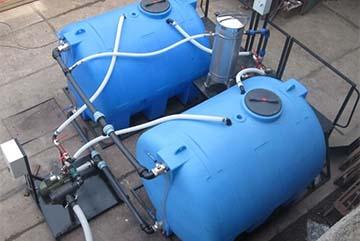 Накопительный резервуар для водоснабжения