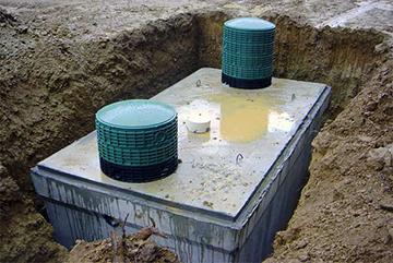 Септик из монолитного бетона