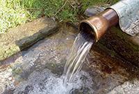 Вода на приусадебном участке