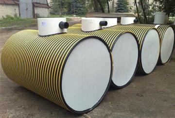 Подготовка пластиковых емкостей для отвода бытовых стоков