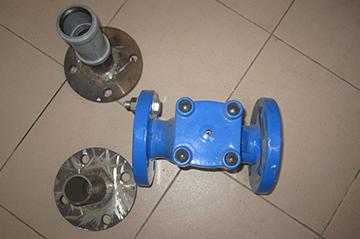 Чугунный фланцевый клапан