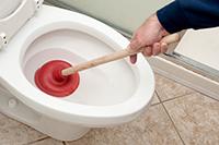 Вантуз для прочистки унитаза
