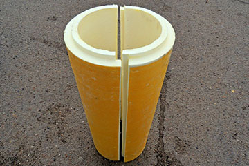 ППУ скорлупа для изоляции труб