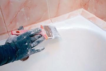 Покрытие ванной эмалью