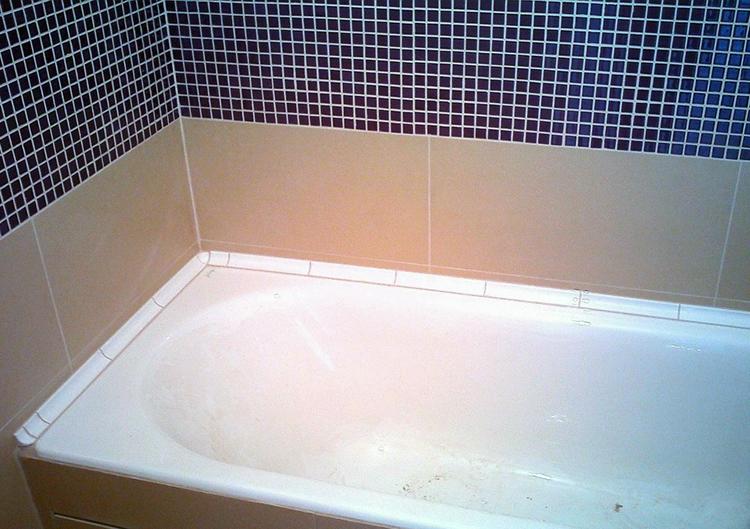 Уголки в ванной