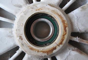 Блок подшипников стиральной машины Ariston