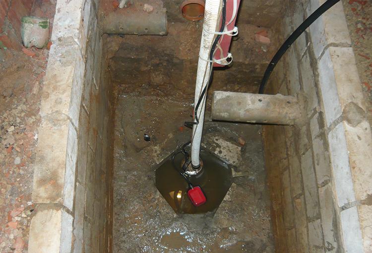 Автоматизация откачки воды