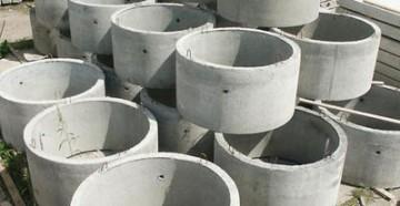 склад бетонных колец