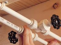 технология монтажа пластиковых труб