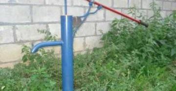 абиссинский колодец на даче