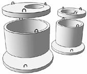 Сборные бетонные кольца для септика