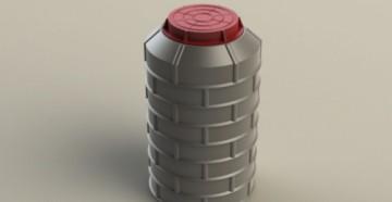 колодец полимерпесчаный