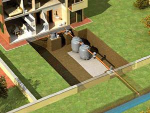 разделение водяных трубопроводов