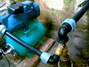 Насосная станция для скважины в частном доме