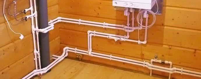 Разводка труб водоснабжения в доме