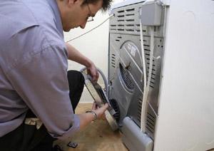 Процесс установки стиралки