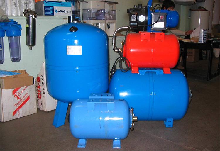 Гидробаки для водоснабжения
