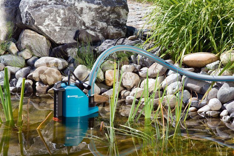 Дренажный насос для полива