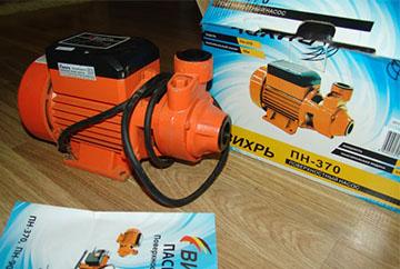 Вихрь Пн-370 - помпа для полива