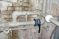 Организация водпопровода из ПП-труб