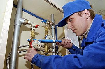 Ввод прибора учета расхода воды в эксплуатацию