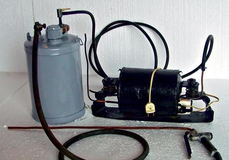 Вакуумный насос на основе компрессора