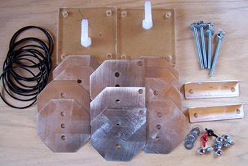 Элементы для изготовления водородного генератора