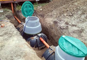 Монтаж системы утилизации сточных вод