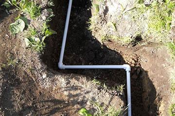 Водопровод скрытого типа