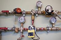 Измерение давления в водопроводе