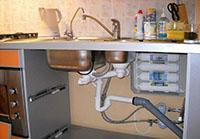 Водоочиститель под мойкой