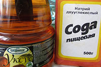 Пищевая сода и уксус