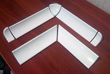 Керамические бордюры