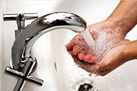 Хороший напор воды