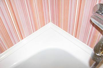 Готовый уголок ванной