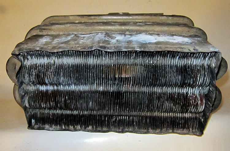 Теплообменник проточного водонагревателя