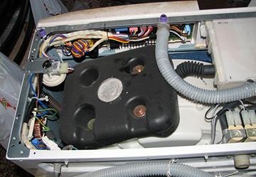 Разобранный агрегат